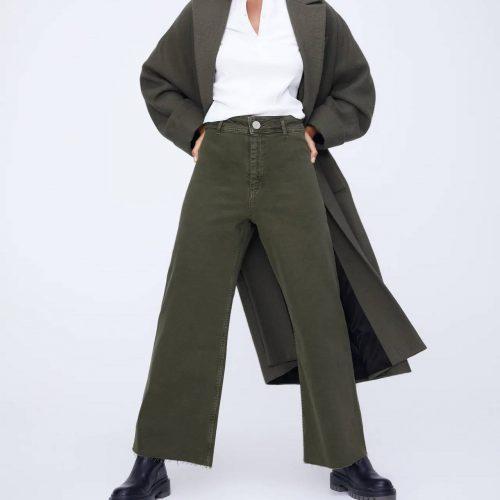 Jeans Zw Premium Marine Straight ZARA
