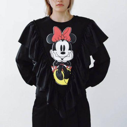 Sudadera Minnie Mouse Disney ZARA