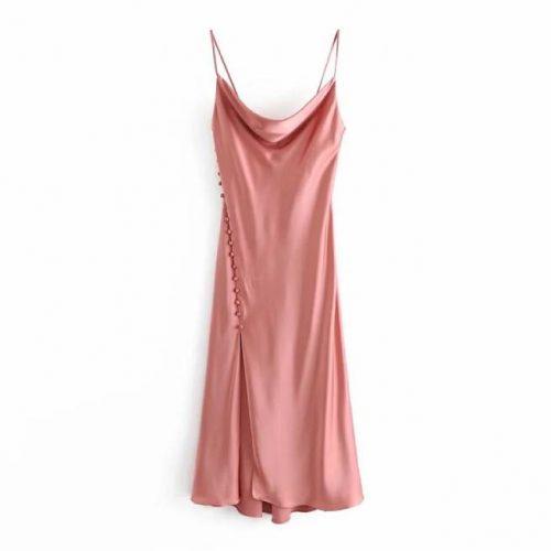 Vestido Camisola de Saten ALIEXPRESS