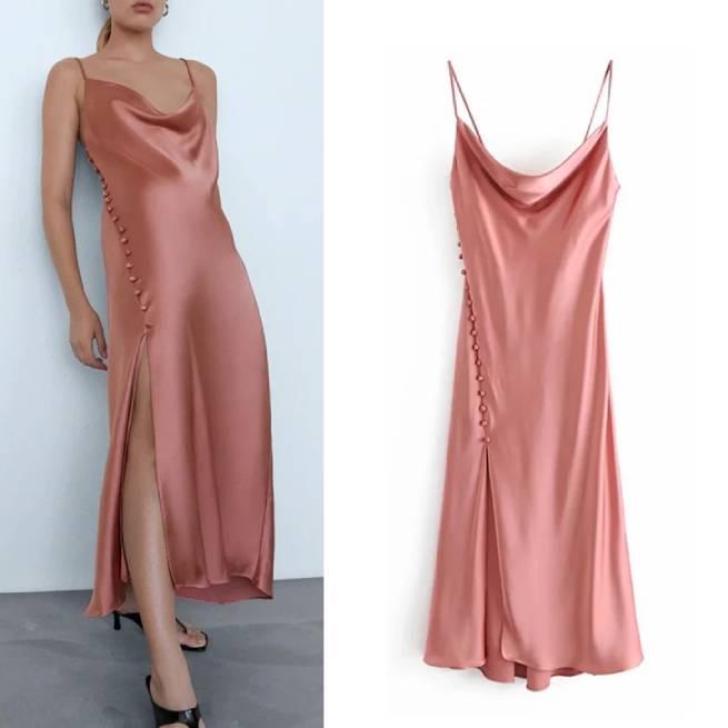 Vestido Camisola de Saten ALIEXPRESS_1