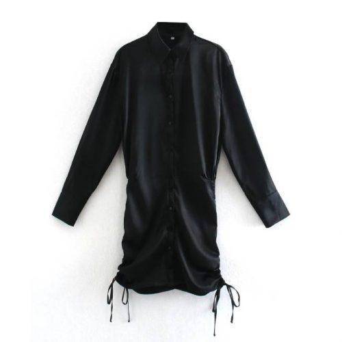 Vestido Ceñido Negro ALIEXPRESS