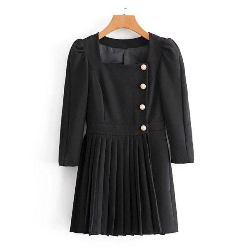 Vestido Negro Tipo Blazer ALIEXPRESS