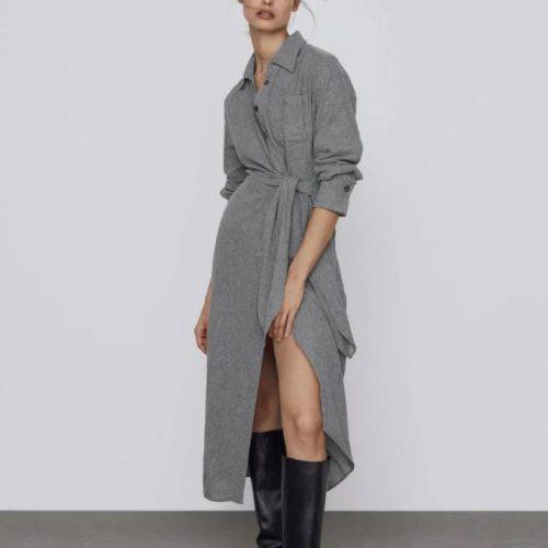 Vestido Nudo Limited Edition ZARA