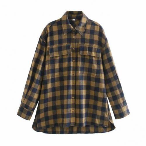Camisa Holgada Manga Larga ALIEXPRESS