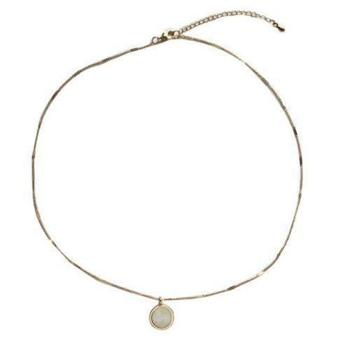 Collar Cadena Chapada en Oro ALIEXPRESS