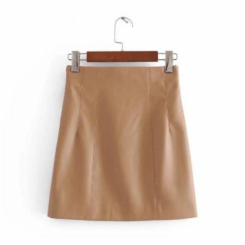 Minifalda Cuero ALIEXPRESS