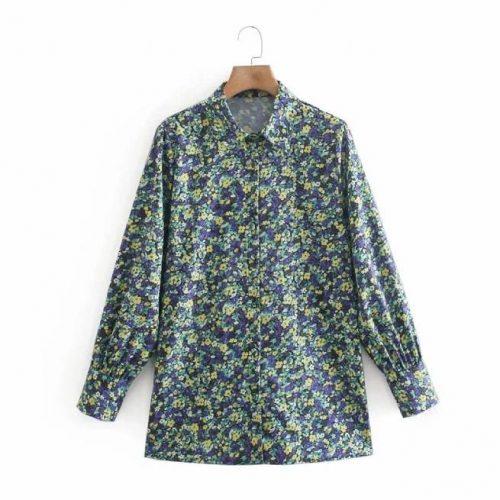 Camisa Estampado Floral ALIEXPRESS