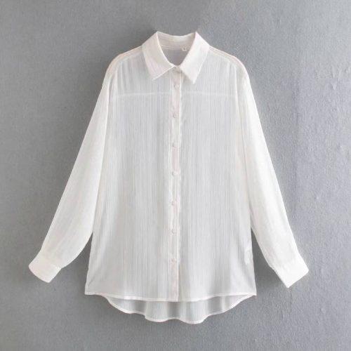 Camisa Holgada Informal ALIEXPRESS
