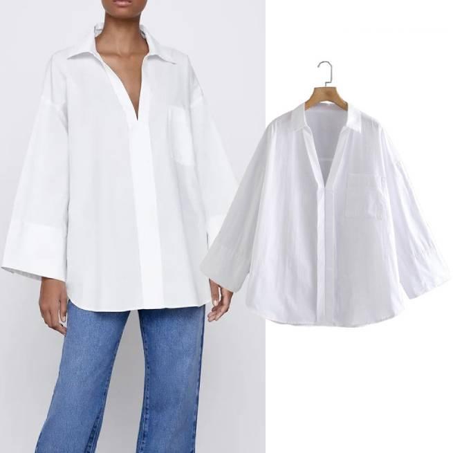 Camisa Oversize Popelín ALIEXPRESS