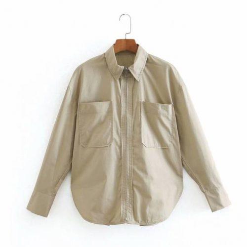 Camisa con Cremallera ALIEXPRESS