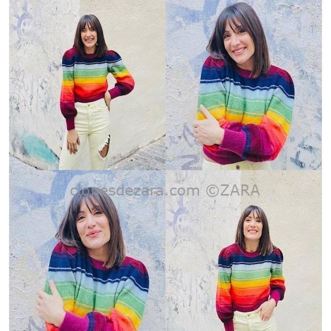 Jersey Rayas Multicolor ZARA