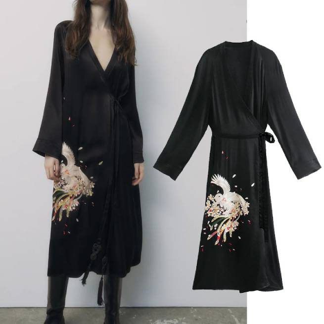 Kimono Bordados ALIEXPRESS