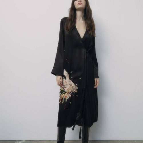 Kimono Bordados ZARA