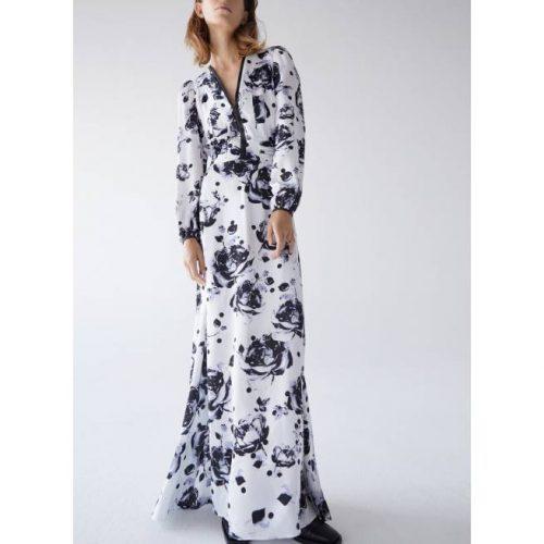 Vestido Estampado Floral UTERQUE