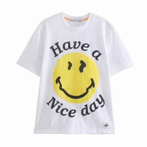 Camiseta Manga Corta Sonrisa ALIEXPRESS