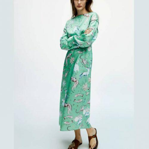 Vestido Estampado Limited Edition ZARA