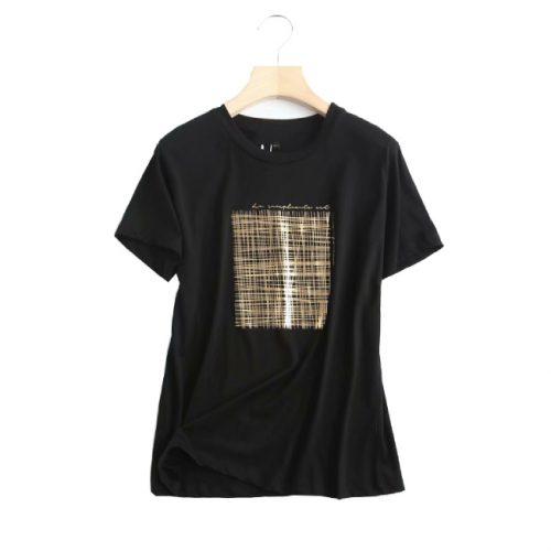 Camiseta Algodón Manga Corta ALIEXPRESS