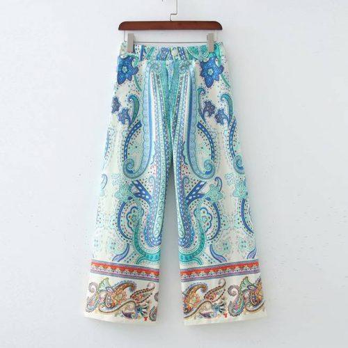 Pantalón Estampado Multicolor ALIEXPRESS