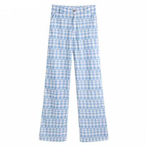 Pantalon Full Length Estampado Geométrico ALIEXPRESS