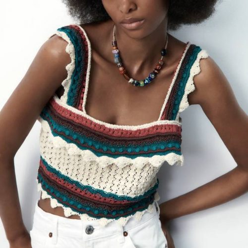 Top Punto Crochet ZARA