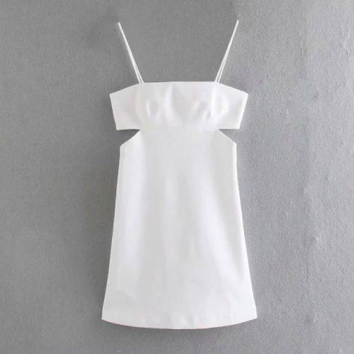 Vestido Corto Blanco ALIEXPRESS