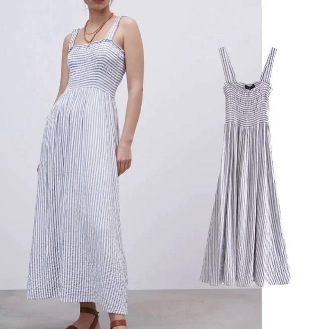 Vestido Largo Rayas ALIEXPRESS