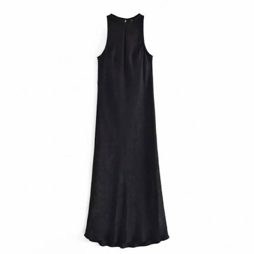 Vestido Largo Saten ALIEXPRESS