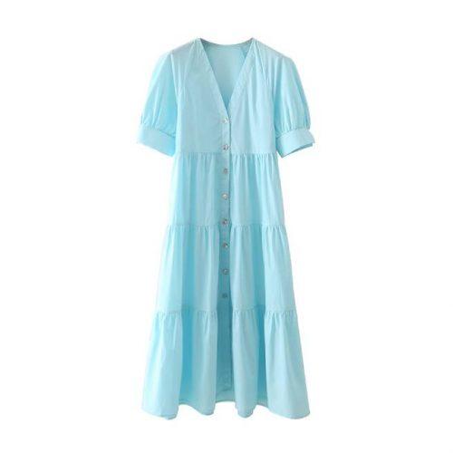 Vestido Popelín Paneles ALIEXPRESS