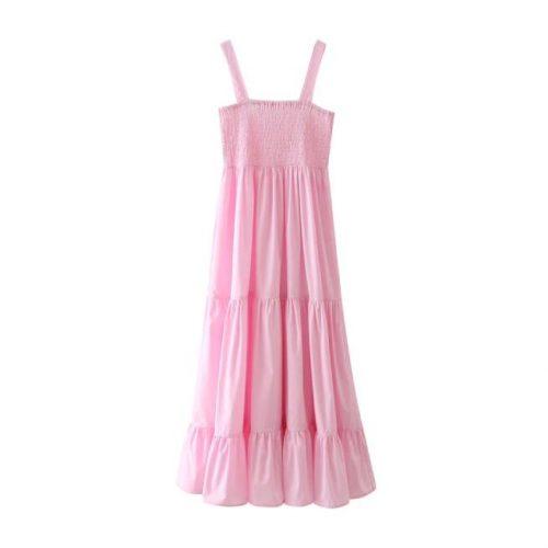 Vestido Tirantes Rosa ALIEXPRESS