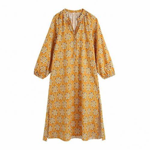 Vestido Veraniego Estampado ALIEXPRESS