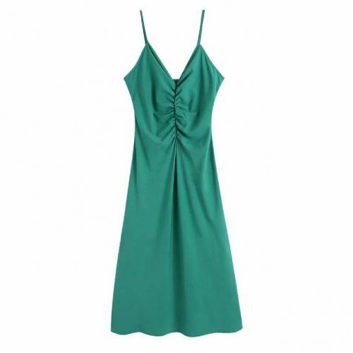 Vestido Verde Largo ALIEXPRESS