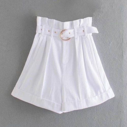 Pantalones Cortos Blancos ALIEXPRESS