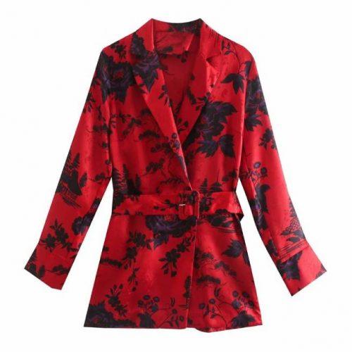 Blusa Estampada Floral ALIEXPRESS