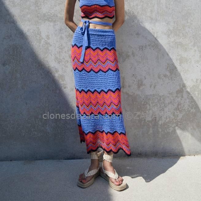 Falda Crochet Special Edition ZARA