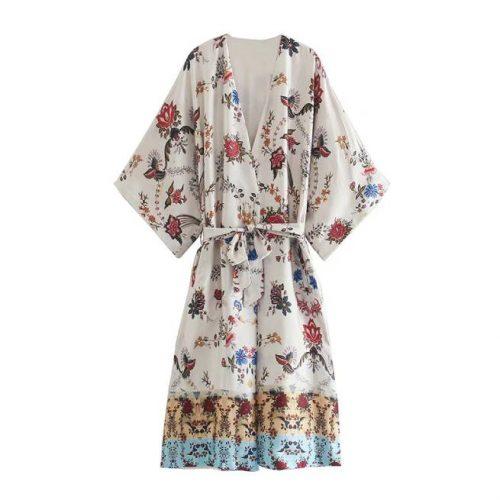 Kimono Estampado Multicolor ALIEXPRESS