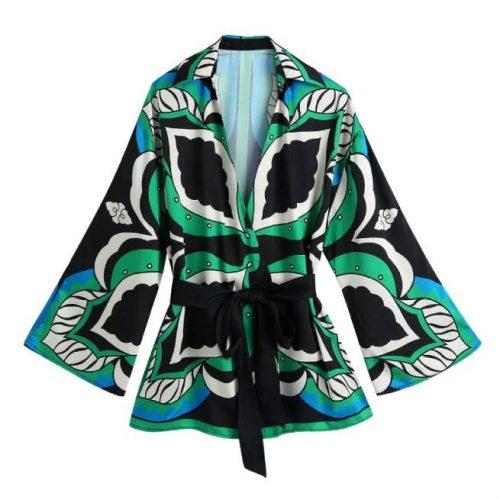 Blusa Multicolor Estampada Lazada ALIEXPRESS