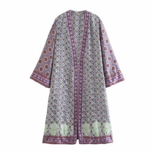 Kimono Multicolor Estampado ALIEXPRESS