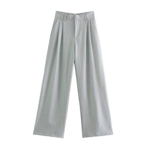 Pantalón Full Length Con Lino ALIEXPRESS
