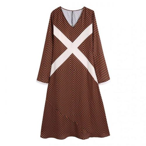 Vestido Midi Rayas ALIEXPRESS