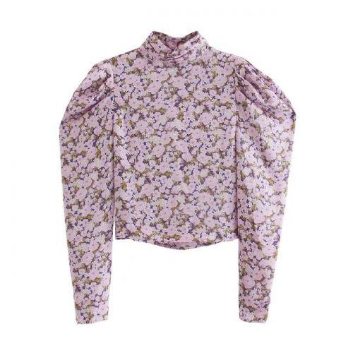 Blusa Estampado Floral Rosa ALIEXPRESS