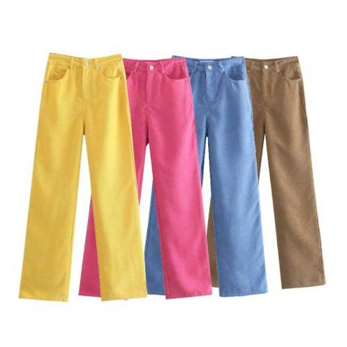 Pantalón Wide Leg Pana (Varios Colores) ALIEXPRESS
